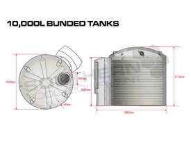 Bunded Diesel Fuel Tanks 10,000L with MC Box Fully Certified for Australia TFBUND - picture4' - Click to enlarge