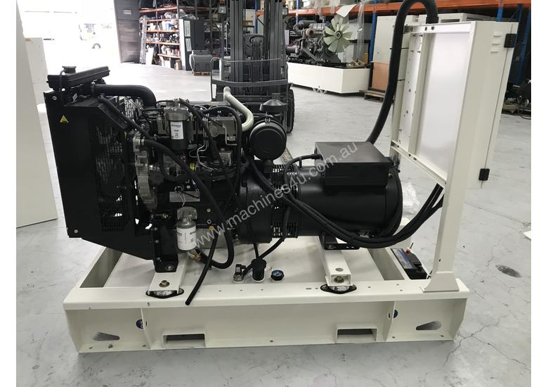 40kW 50kVA 3 Phase Skidmounted Diesel Generator Perkins Engine