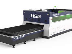 ***EOFY 2019 SALE*** HSG 3015A 1kW Fiber Laser Cutting Machine - SANYO, ALPHA   - picture2' - Click to enlarge