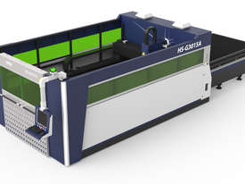 ** IN STOCK ** HSG 3015A 1kW Fiber Laser Cutting Machine - SANYO, ALPHA   - picture3' - Click to enlarge