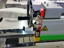 NANXING Touch Screen 3 speed up to 24m/min Auto Edgebander NBC332 with extra Corner Rounding Machine - picture1' - Click to enlarge