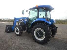 Unused 2018 New Holland TD75 4WD Tractor 4 Cyl c/w Turbo Intercooled, High Visibility Roof, Drawbar, - picture1' - Click to enlarge