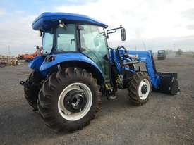 Unused 2018 New Holland TD75 4WD Tractor 4 Cyl c/w Turbo Intercooled, High Visibility Roof, Drawbar, - picture2' - Click to enlarge
