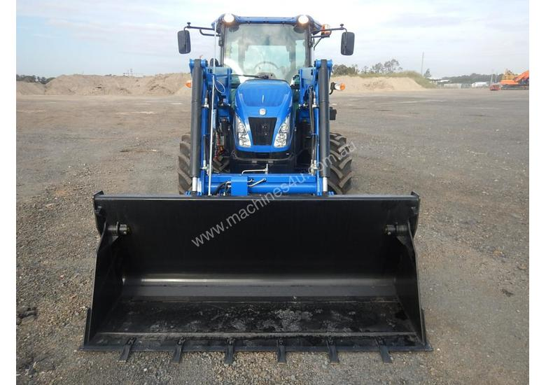 Unused 2018 New Holland TD75 4WD Tractor 4 Cyl c/w Turbo Intercooled, High Visibility Roof, Drawbar,