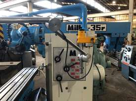 MILKO 35R MILLING MACHINE - picture1' - Click to enlarge