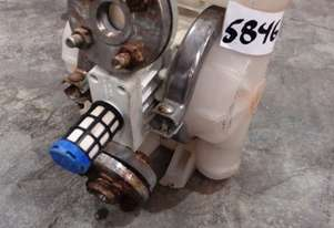 Diaphragm Pump, IN/OUT: 25mm Dia