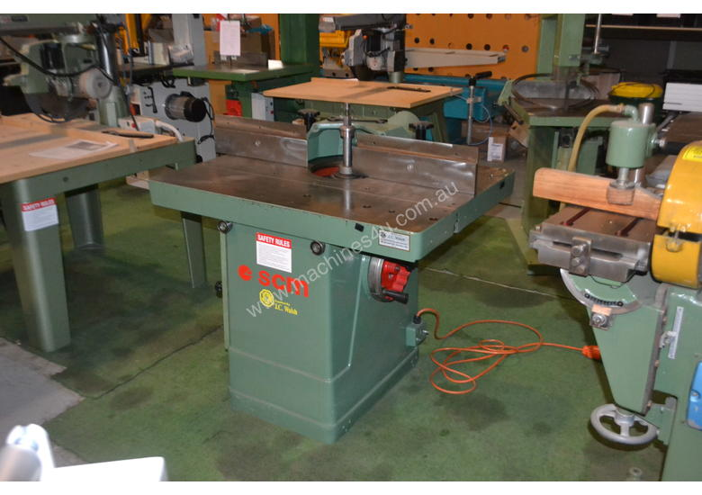 SCM sliding table spindle moulder
