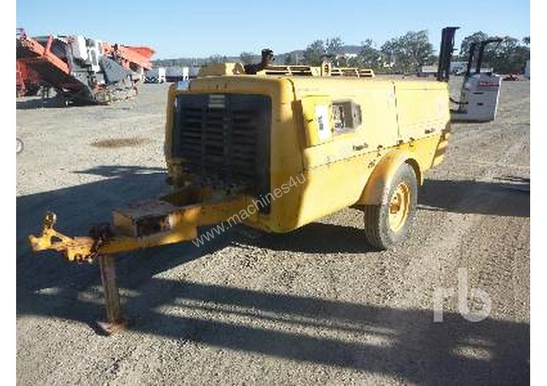 ATLAS COPCO XAS120DD Air Compressor