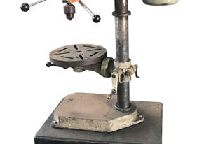 Drilmore Bench mounted Pedestal Drill 13mm, Keyed Chuck, 415 Volt, 3 Phase M13R9 (Circle Pedestal),