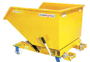 Waste Bin 620PC with reinforced bottom and forklift anchor