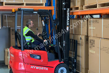 Hyworth 1.5T 3 Wheel Battery Electric Counterbalance FOR