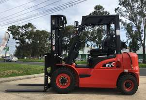 Brand New Hangcha 2.5 Ton Dual Fuel Forklift For Sale