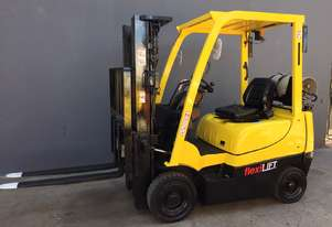 HYSTER H1.5TX Counterbalance Forklift with Side-Shift Fork Positioner