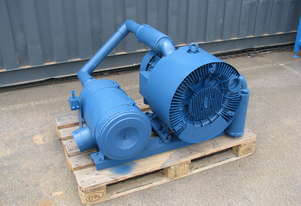 High Pressure Side Channel Blower Vacuum Pump - 11kw - Siemens