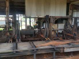Gibson Power Feeder and Log Roller Bench - $ Make an Offer - picture1' - Click to enlarge