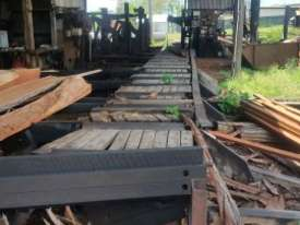 Gibson Power Feeder and Log Roller Bench - $ Make an Offer - picture2' - Click to enlarge