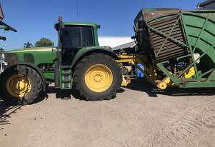 John Deere 6920S & Carta Elevating Bin