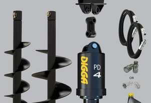 Digga PD4 auger drive combo package mini excavator up to 5.5T