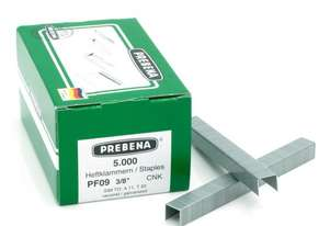 Prebena PF09CNK Staples galvanized