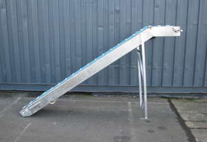 Incline Belt Conveyor - 2.6m long