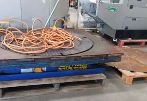 SCISSOR LIFT TURNTABLE 1500KG ELECTRIC Made in Sweden