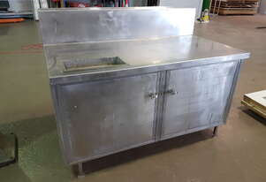 Stainless Steel cupboard/Bench