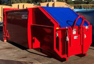Rota-Pack Transportable Compactor | Hygienic compaction of wet waste