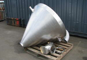 Stainless Cyclone Hopper Loader with Fitting - 900L