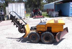 Trencheroo Trench digger and trailer
