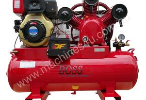 BOSS 42 CFM/ 10HP DIESEL COMPRESSOR ON 160L TANK