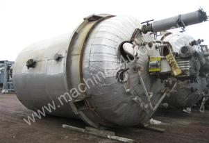 Steel Mixing Tank with Stainless Steel Steam Coils