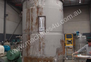 Stainless Steel Mixing - Capacity 3,000 Lt.