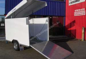 Belco   Enclosed Bike Trailer
