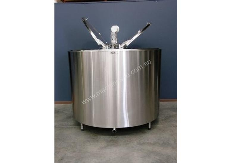 Stainless Steel Tank 2,800lt Jacketed