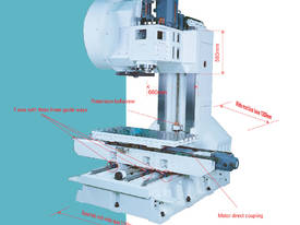 Mitseiki CV-1200A Vertical M/C Centre - picture2' - Click to enlarge