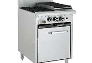 LUUS Gas Oven Range - 2 Burners 300 Grill and Oven