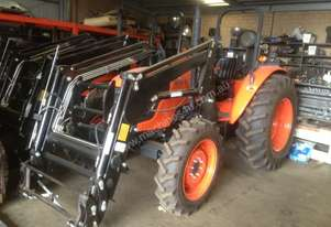 Kubota m series m704 with loader 4 in 1 bucket