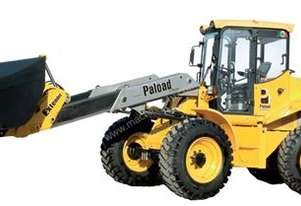 PT 82 WHEELED LOADER WITH TELESCOPIC BOOM