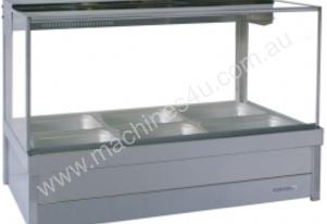 Hot Foodbar - Roband S23 Square Glass Double Row
