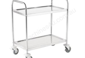 2 Tier Clearing Trolley-F998 Vogue 2 Tier - Large
