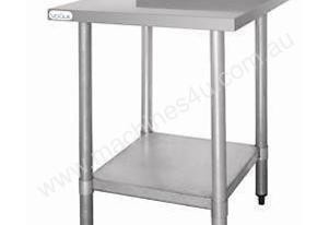 Stainless Steel Prep Table with Splashback - T380