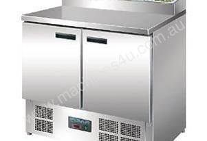 Polar G604-A - Refrigerated Prep Counter 2 Door 254Ltr
