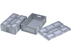 Folding Plastic Crate 41 Litre - picture2' - Click to enlarge
