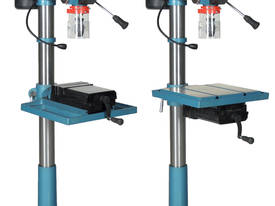 Industrial Belt Drill, Reverse Vice, LED Lamp