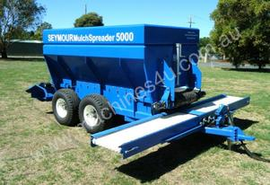 Seymour Rural Equipment Seymour 5000 Mulch Spreader