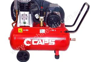 3hp Piston Compressor, Single Phase, 240V 15 amp