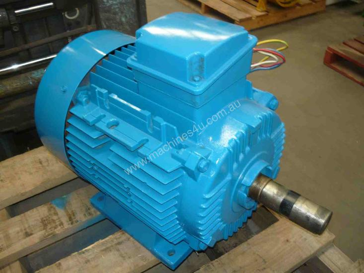 Used lafert lafert industrial 15hp 3 phase electric motor for Used industrial electric motors