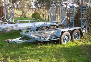 3 ton Atm plant trailer , 12' long x 5' wide deck space ,