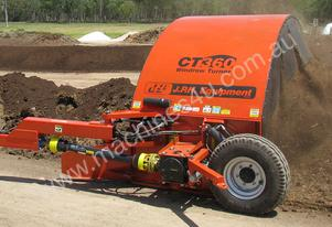 The CT Series Tow Behind Windrow Compost Turners