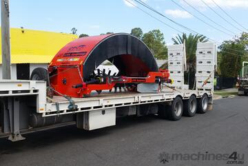 CT360 Windrow Turner/Compost Turner - Tow Behind - Australian Made